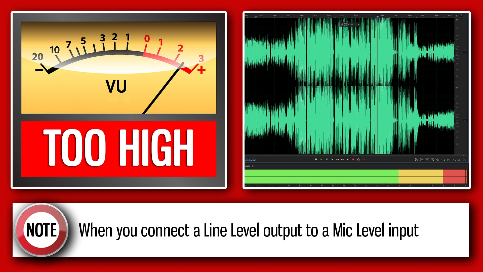 Zoom H1 Levels Too High